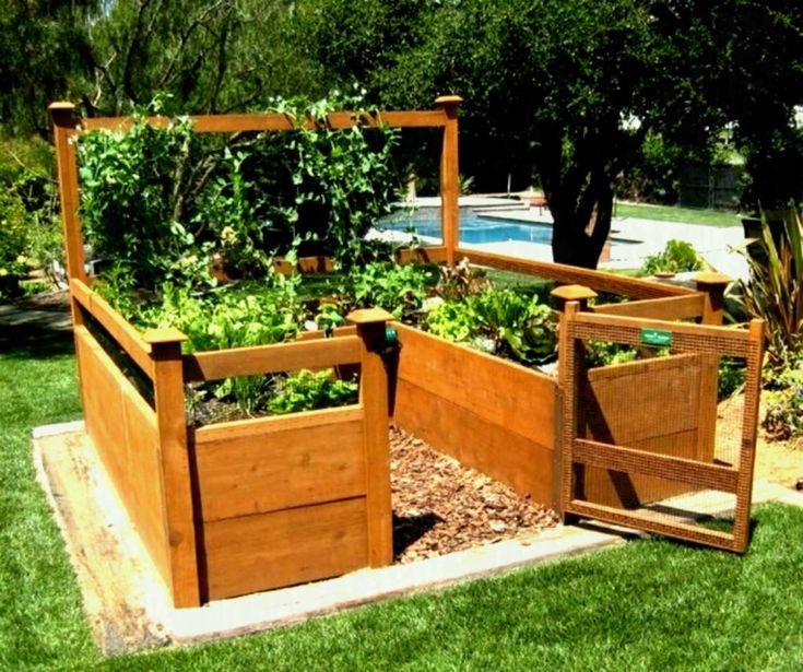 Sumptuous Design Ideas Elevated Garden Bed Plans Absorbing ...