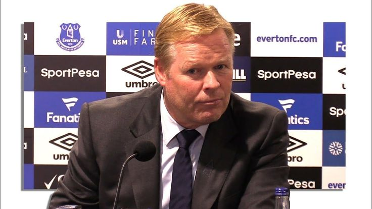cool Ronald Koeman Full Pre-Match Press Conference - Manchester City v Everton - Premier League