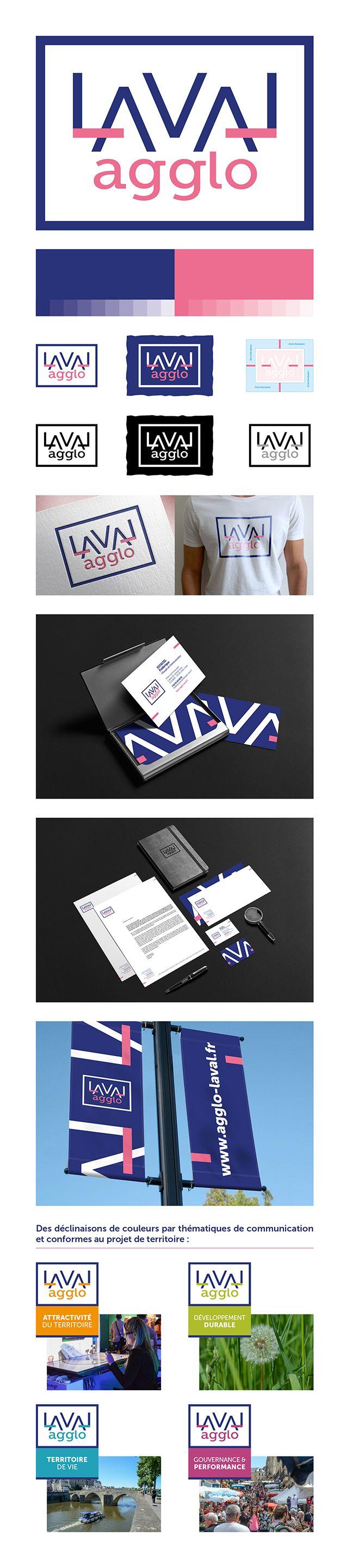 MOSWO | le public | Laval Agglo | Identité | com publique | logo | ville | marque | tourisme | palindrome | symétrie
