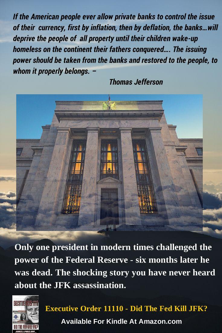 Did the Fed kill JFK? Executive Order 11110 #jfk JFK assassination