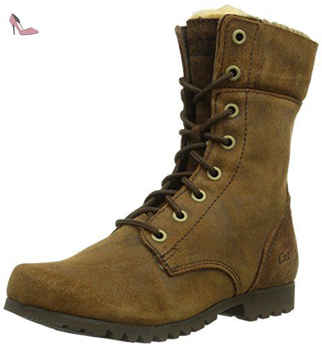 Caterpillar Alexi, Boots femme - Marron (Dark Snuff), 41 EU - Chaussures caterpillar (*Partner-Link)