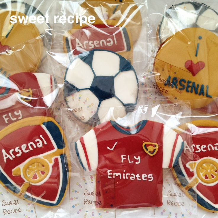 arsenal cookies