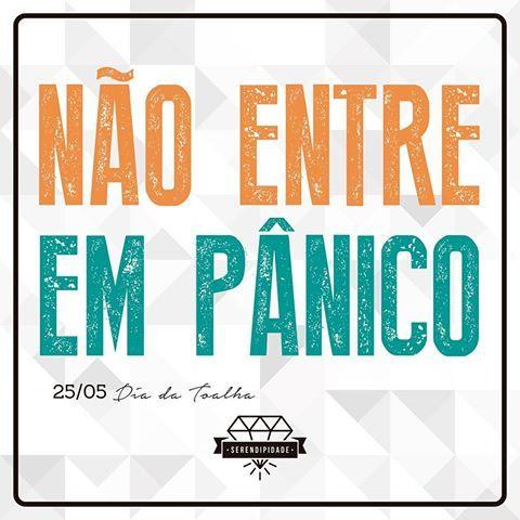 Não entre em pânico! #guiadomochileirodasgalaxias