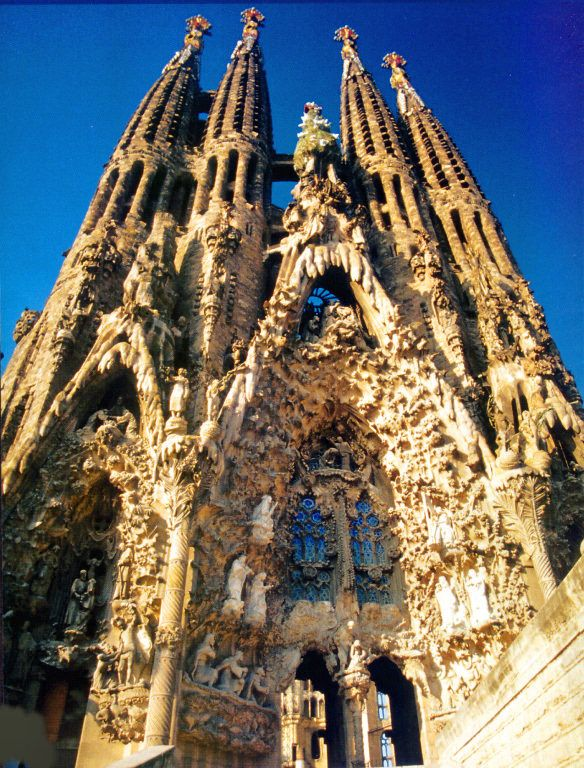 Sagrada Familia in Barcelona, Espana- of the many beautiful countries and cities J visited, this was one of his all time faves. Can't WAIT to see it in person!
