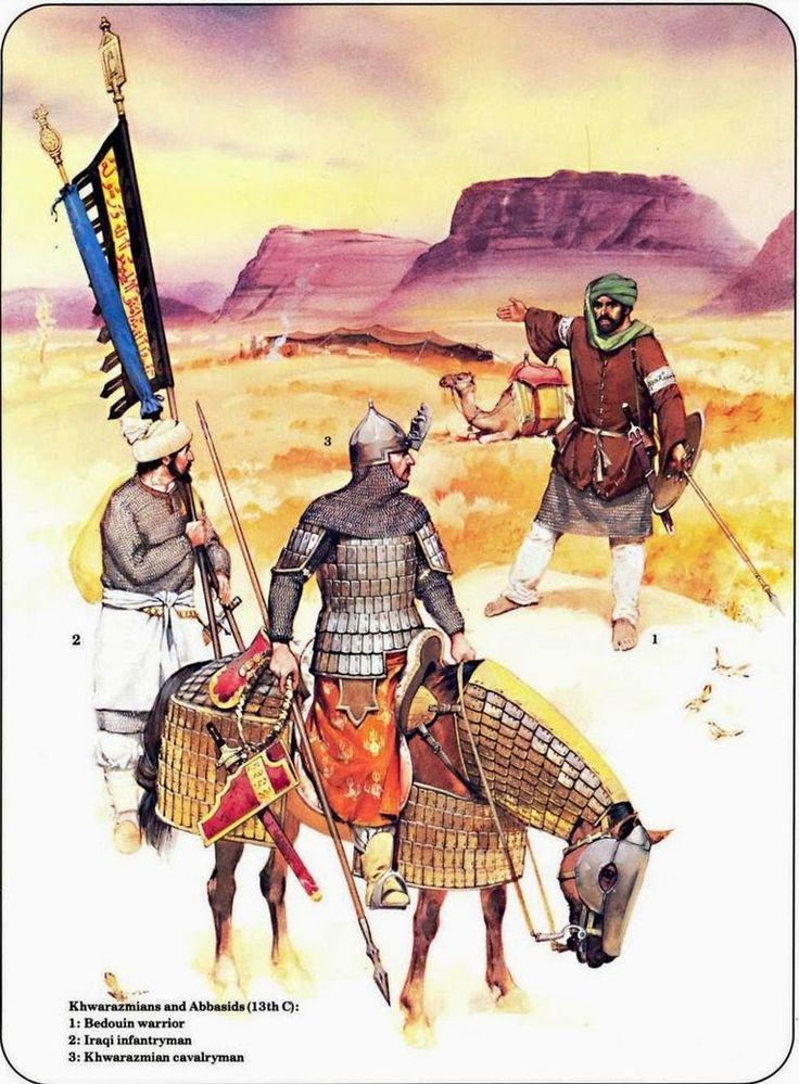 Varga Csaba Béla: Santa és az Éj asszonya | saracen warriors by byzantinum | #saracen #warriors