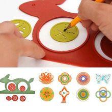 Детская развивающая игрушка спирограф для рисования геометрических узоров, кролик черепаха.(China (Mainland))