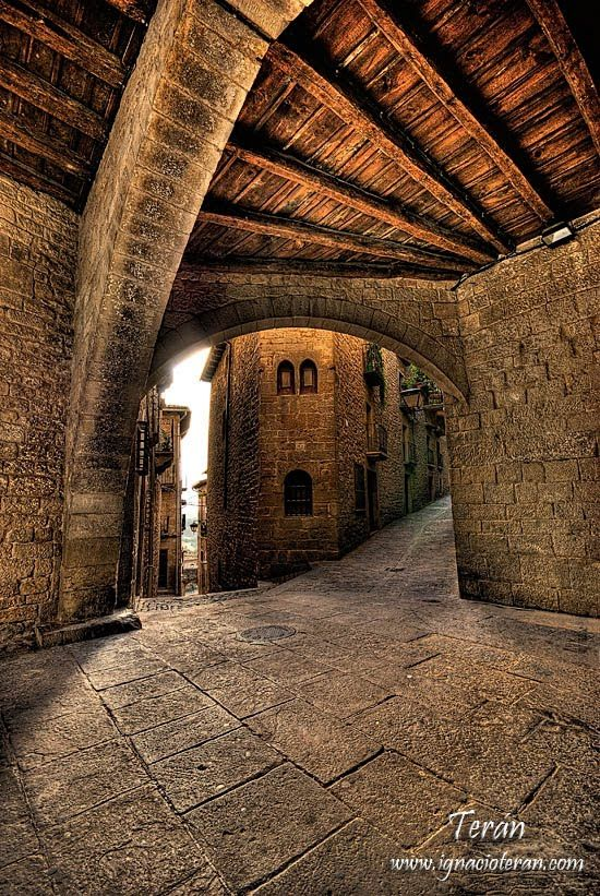 Sos del Rey Catolico, Comarca Cinco Villas Aragón Spain
