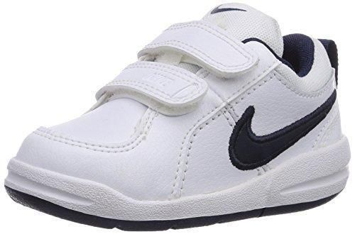 Oferta: 27.75€. Comprar Ofertas de Nike Pico 4 Zapatillas para niño, 26 EU (9C US), Blanco / Azul marino barato. ¡Mira las ofertas!