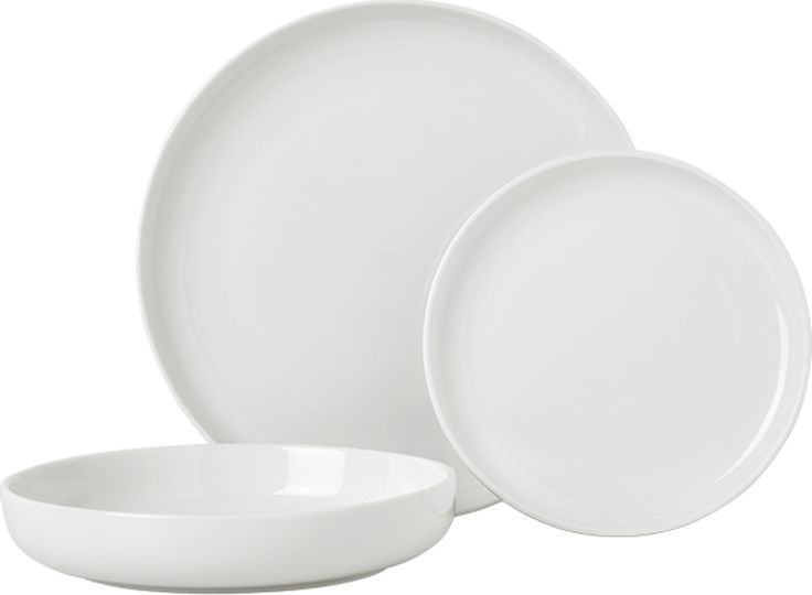 Leah Porcelain 12 Piece Dinner Set White From Made Com Express Delivery White Tableware Clean Chic Minimal It S Hard To Beat The Leah Tablew