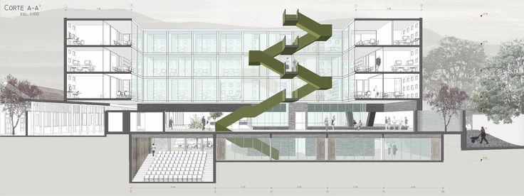 Galería de Ganadores Concurso Edificio Docente y de Investigación Escuela de Arquitectura UC - 20