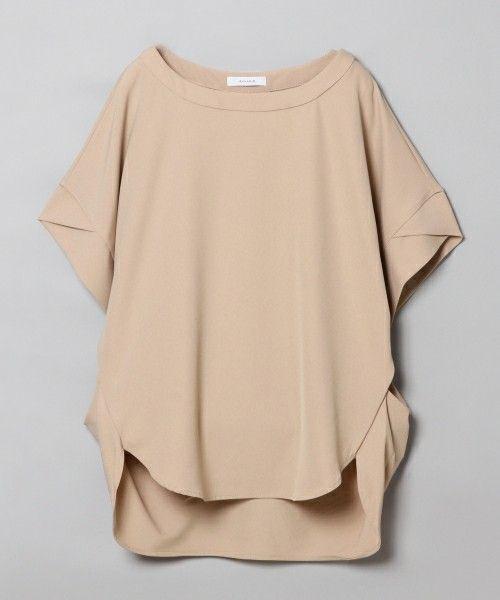 【ZOZOTOWN】JEANASIS(ジーナシス)のTシャツ/カットソー「ロールスリーブプルオーバーSS/726446 」(726446)を購入できます。