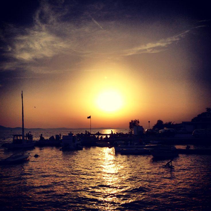 Zadar sunset Croatia