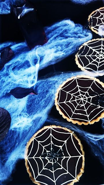 [HALLOWEEN] ¡Tartaletas de chocolate y caramelo salado terroríficas! Paso a paso.