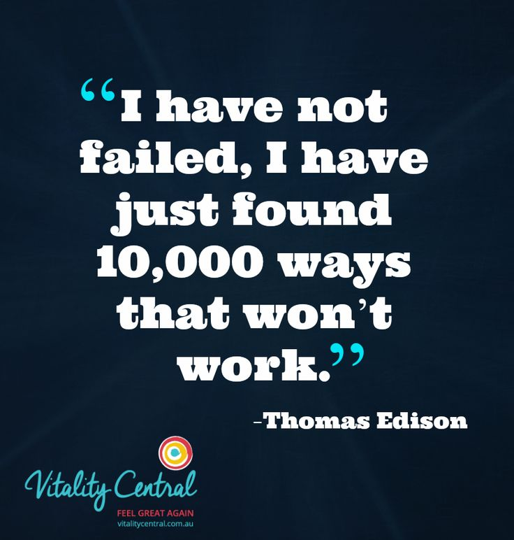 I have not failed. #health #happiness #success #motivation #wellbeing #wellness #vitality #inspiration #quote