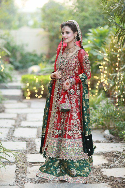 A Typical Pakistani Bride!! Don't bother to pin it , if you gona call it something else or from somewhere else!!!!
