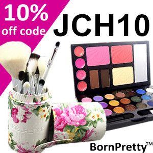 """Enjoy shopping at Bornprettystore.com Use """"JCH10"""" to obtain 10% discount from their products! #bornprettystore #bbloggers #cosmetics #nailart #coupon"""