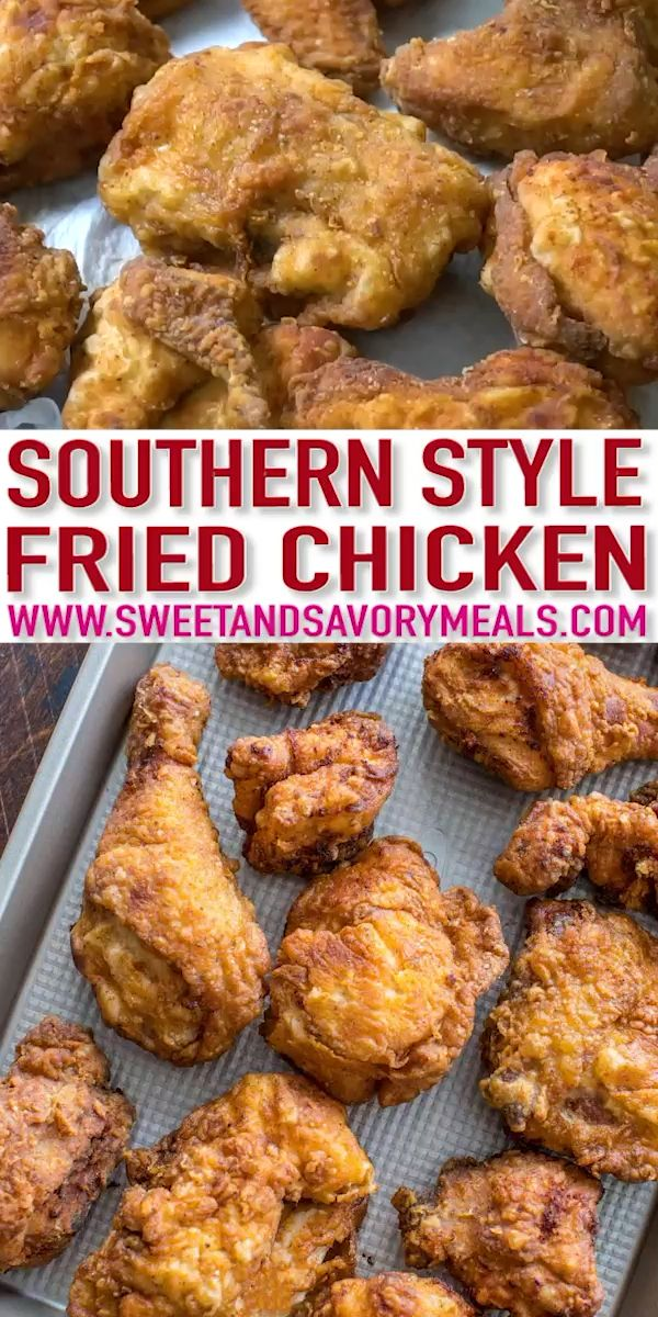 Fried Chicken Recipe Video Sweet And Savory Meals Video Recipe Video In 2020 Fried Chicken Recipe Easy Best Fried Chicken Recipe Fried Chicken Recipes