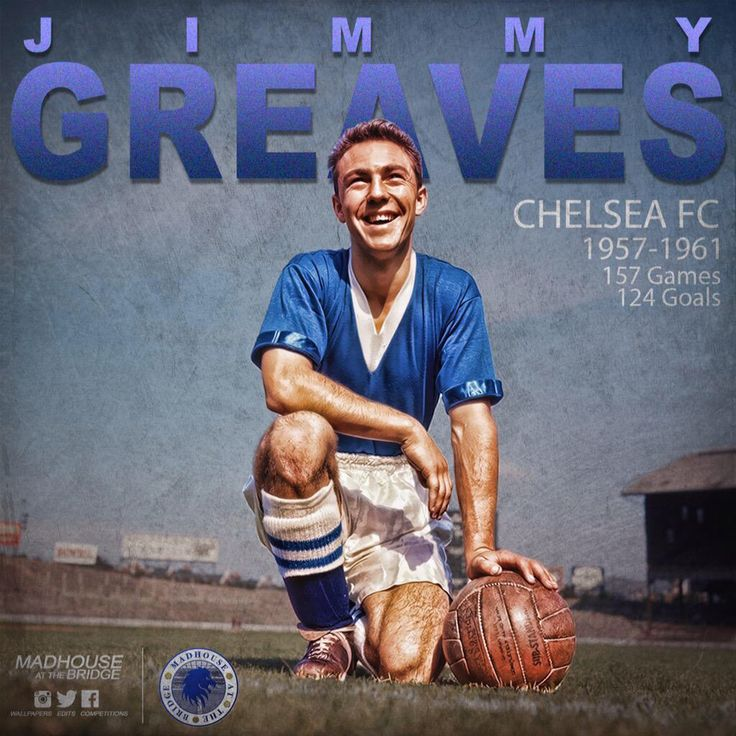 Jimmy Greaves - Chelsea FC Legend