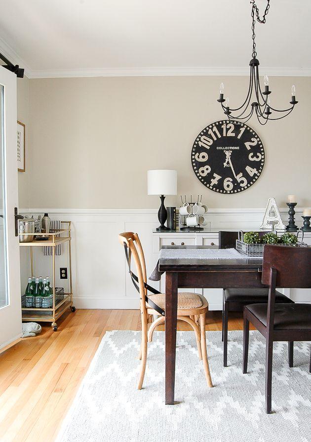 Classic Modern Farmhouse Dining Room Light