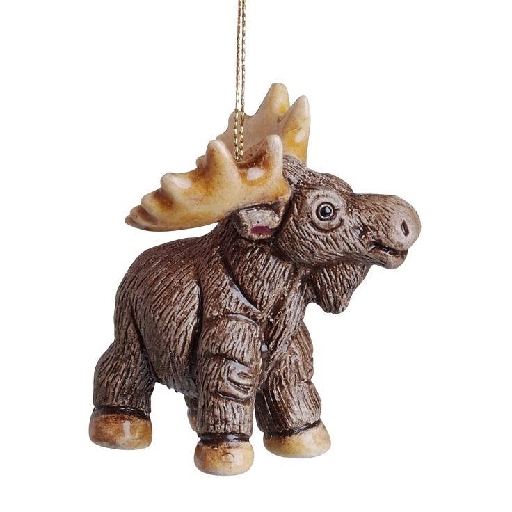 Cheerful Moose Ornament - Ornaments & Accessories - Holiday - Products