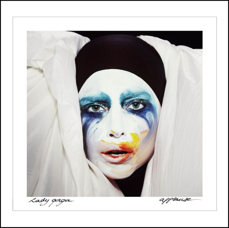 "Lady Gaga – CD Cover for ""Applause"""