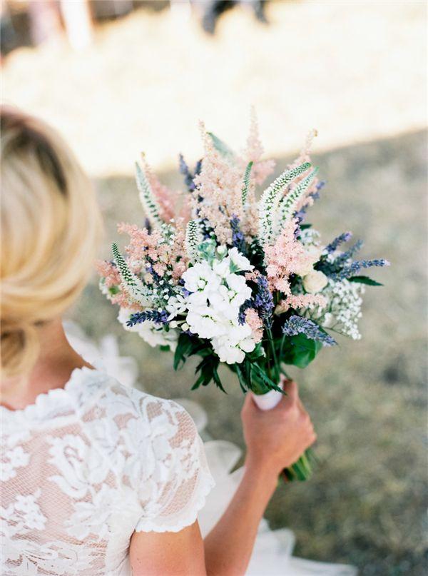 Braut, Blumen, Kleid