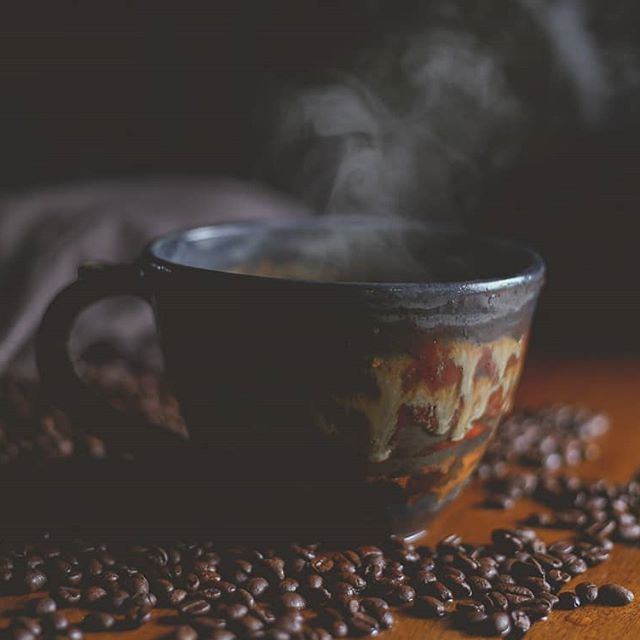 So steam was the challenge for today's photo. I love my coffee so it was only natural that I try for a steaming cup of coffee. . . #mbljourney2018 #photography #photochallenge #steam #coffee #learnnewthings #learning  #Regram via @allisonrutleyphotos