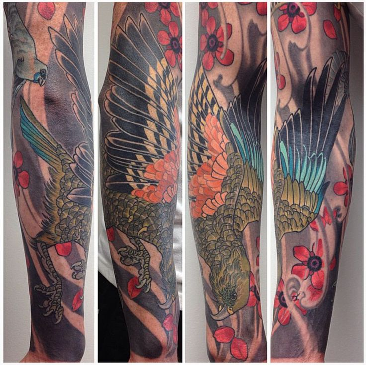 Sacred Tattoo in Kingsland - Hamish M - Kea finished