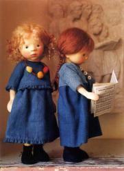 Lalki z drewna i tekstyliów -Pongratz