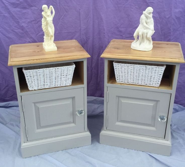 Solid Pine Bedside Cabinets in Home, Furniture & DIY, Furniture, Bedside Tables & Cabinets | eBay