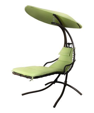 Now this is a fancy lawn chair.