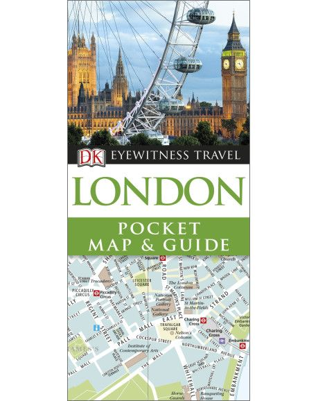 DK Eyewitness Pocket Map and Guide London will lead you straight to the best London has to offer. It's packed with beautiful illustrations and