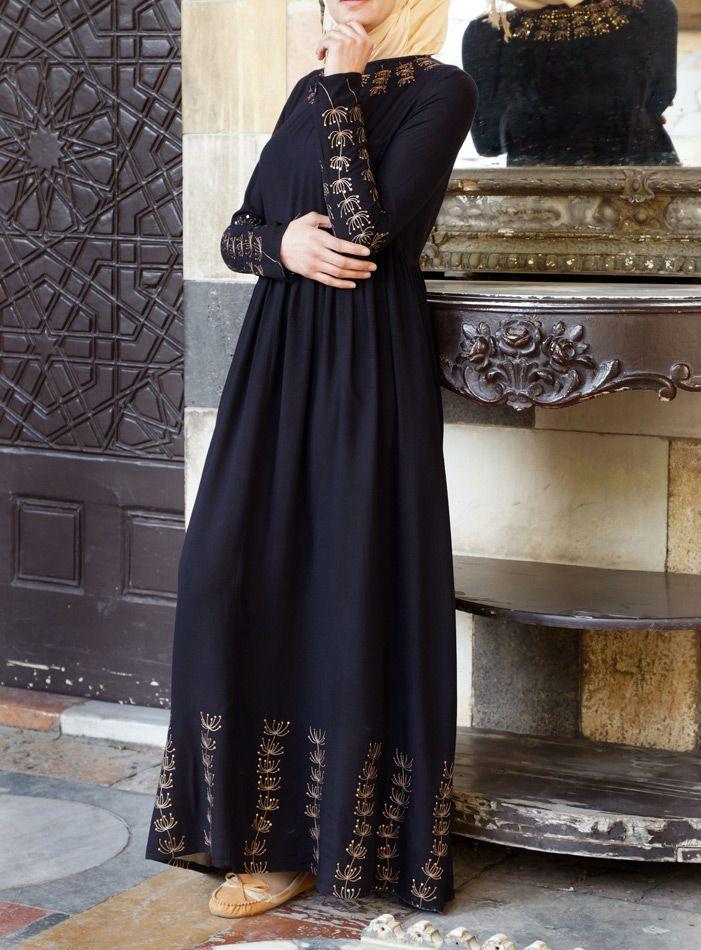 SHUKR USA | Amara Empire Waist Gown