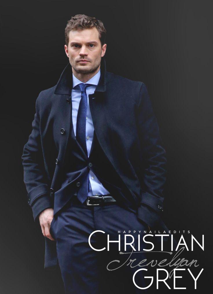 """  Christian Trevelyan Grey are back for Fifty Shades Darker "" Jamie Dornan"