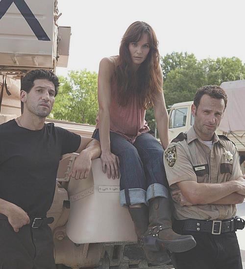 Shane, Lori, & Rick Grimes. The Walking Dead's love triangle.