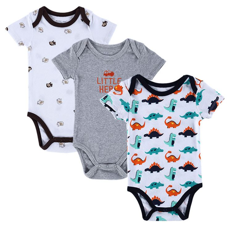 BABY BODYSUITS 3PCS 100%Cotton Infant Body Short Sleeve Clothing Similar Jumpsuit Printed Baby Boy Girl Bodysuits-in Bodysuits from Mother & Kids on Aliexpress.com | Alibaba Group $9.39