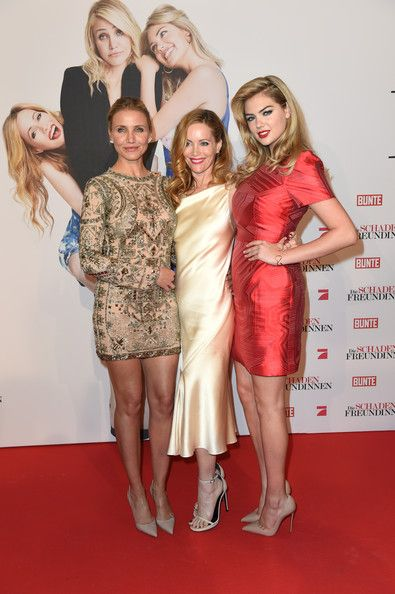 Cameron Diaz Photos Photos - (L-R) Actress Cameron Diaz, Leslie Mann and Kate Upton attend the German premiere of the film 'The Other Woman' (German title: Die Schadenfreundinnen) at Mathaeser Filmpalast on April 7, 2014 in Munich, Germany. - 'The Other Woman' Premieres in Munich