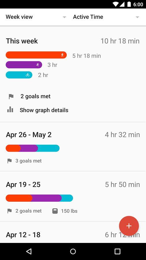 Google Fit - Fitness Tracking- screenshot