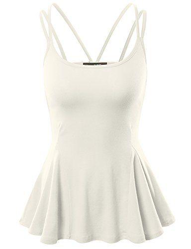 Doublju Women Simple Flare Sleeveless Top WHITE,M Doublju http://www.amazon.com/dp/B010LWW02M/ref=cm_sw_r_pi_dp_QSk4wb13114H6