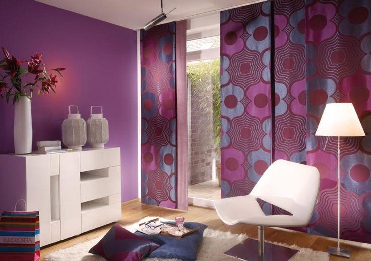 dekoideen wohnzimmer lila wohnzimmer deko lila tusnow dekoideen ...