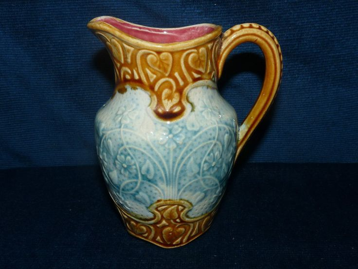 1432 Best Images About Majolica Pitchers On Pinterest