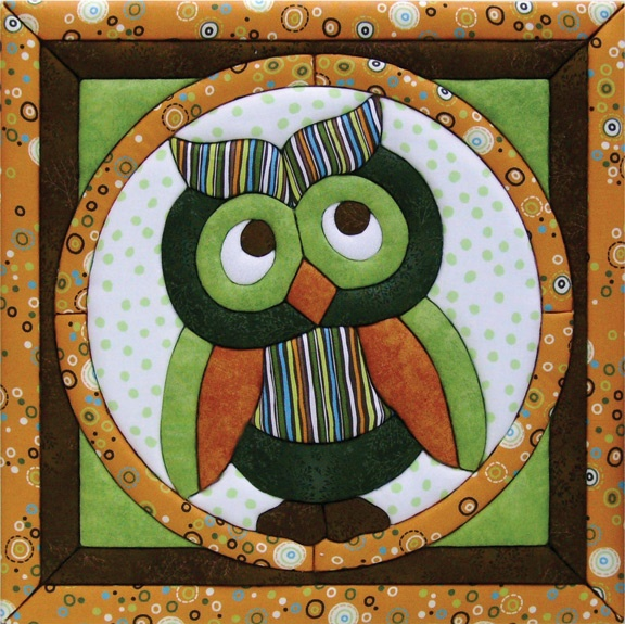 Owl quilt: Appliques Wall Quilts Patterns, Owl Quilts Design, Needleless, Patchwork Without, 193 Owl, Cute Owl, Quilts Ideas, Birds Crafts, Owl Patterns