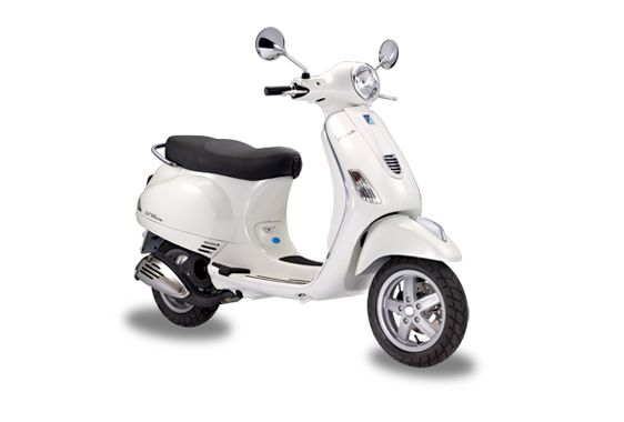 Vespa LX 3v ie white