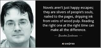 Words from Sanderson himself. I will write a book just like described that is my…