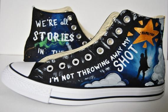 Broadway shoes, Custom painted shoes