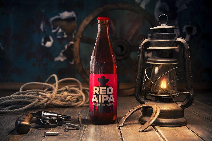 BIRBANT Red AIPA Label design