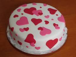 tortas decoradas con corazones y otras con lunares - Buscar con Google