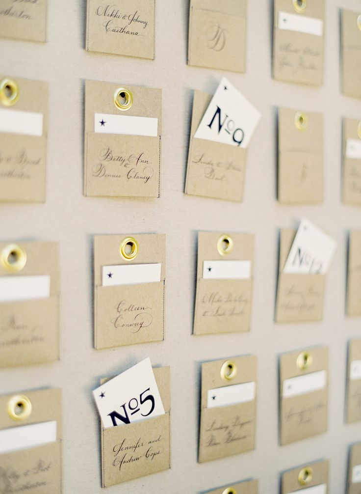 1000 images about table seating card ideas on pinterest for Ideas for wedding place cards table
