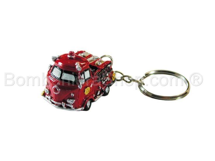 Portachiavi camionetta vigili del fuoco
