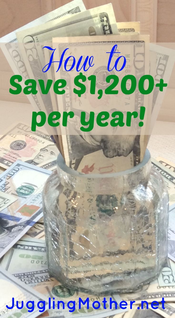 How to Save $1200+ per year by Making Little Money Changes